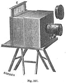 الكاميرا البدائية الشمسية التي تستخدم الداجيروتايب